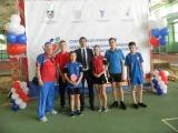 Участие во  2-м открытом  Чемпионате и Первенстве Ростовской области по настольному теннису
