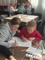 Участие в городском творческом конкурсе рисунков  «Рисуем с мамой»