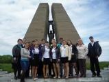 Посещение мемориалов 6 мая